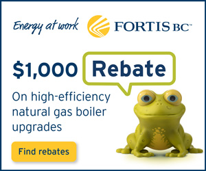 Okanagan Heating & Air Conditioning promotes Fortis BC energy rebates on furnace replacements!