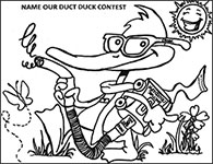 Name our Duct Duck Contest