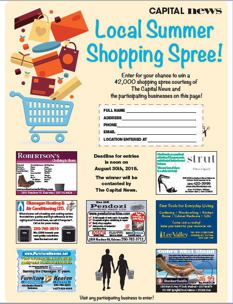 Enter Shopping Spree Contest from Capital News