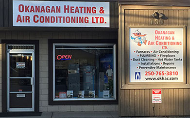 Okanagan Heating & Air Conditioning for all your home comfort needs!