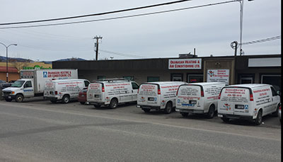 Okanagan Heating & Air Conditioning Combination Packages